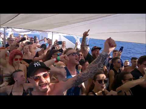 Ibiza Goes Hard 2019 (6/9), Sunset Boat Party: Wreck Reality.