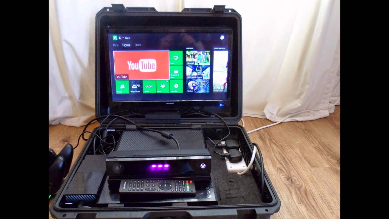 Exhibition Shell Xbox One : Xbox one carry and play case youtube