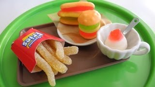 World Kawaii food ⑨ 「ファーストフードグミ」 Fast Food gummy thumbnail