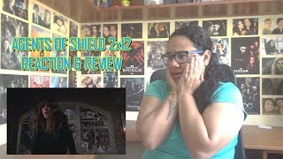 Marvels Agents of SHIELD 2x12 REACTION  REVIEW Who You Really Are S02E12  JuliDG