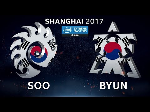 StarCraft II - soO vs. ByuN [ZvT] - Quarterfinal #4 - IEM Shanghai 2017