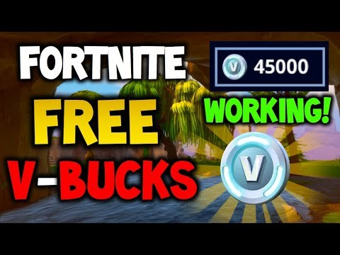 How To Get FREE V-Bucks Fortnite Battle Royale - EASY METHOD! - 2018 (XBOX, PLAYSTATION 4 & PC) 100%