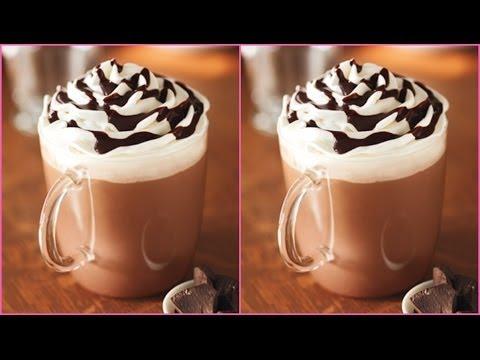 Starbucks Hot Chocolate Recipe! - YouTube