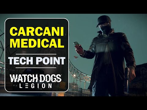 Carcani Medical, Camden: How to get the Tech Point | Watch Dogs Legion (Tech Point Location Guide)