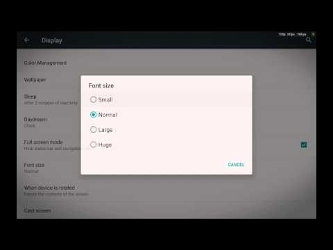 How To Change The Font Size For Your Android Tablet Or Phone (The Excellent Way)