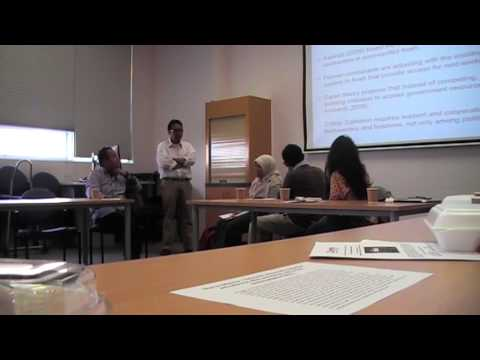 """The 2015 Indonesian Students Roundtable"" (Session 3)"