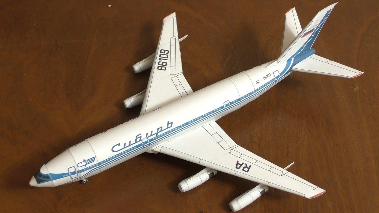 Как сделать самолёт из картона модель 1