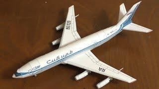 Ил-86 модель самолета  из бумаги (ЮТ)