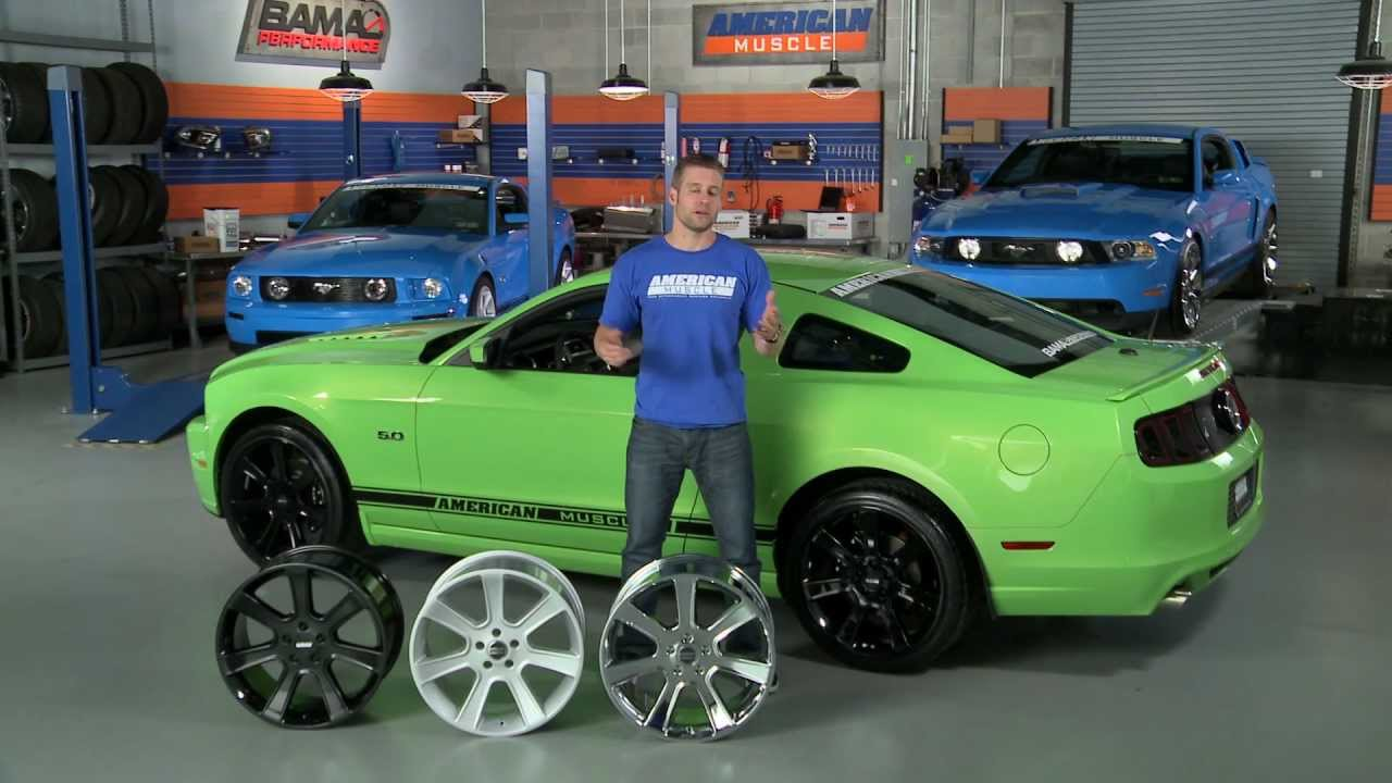 Mustang S197 Saleen Style Wheels 05 13 All Review Youtube