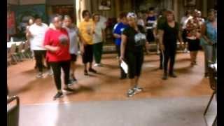 SOSU w/ LadyD - SOSU Cha Line Dance (Summer Rain)