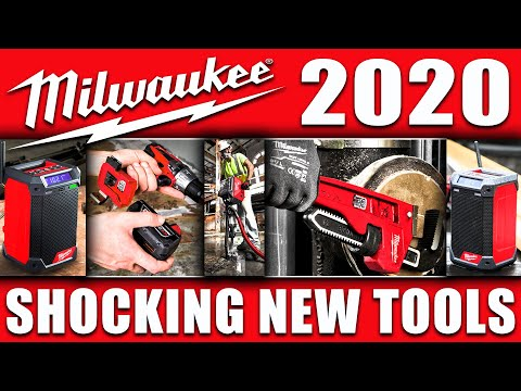 MILWAUKEE DEBUTS 3 BRAND NEW TOOLS (Shocking Premiere)