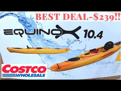 Equinox Sit-In Kayak 10 4 Costco - BEST kayak under $300