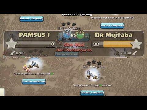 War Serentak DEWA Push Indo VS Raja Push Dr Mujtaba, COC INDO SADIS