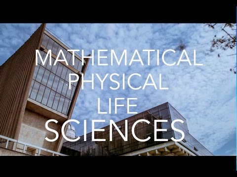 Postgraduate Mathematical, Physical and Life Sciences at Oxford