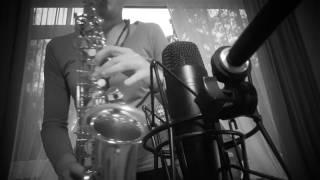 Titanium alt saxophone By Marina