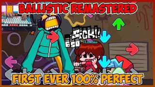Friday Night Funkin   VS Whitty Ballistic Remastered [HARD] FIRST EVER 100% PERFECT