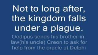 Oedipus The King  [English Project]