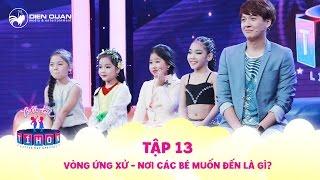 Biệt tài tí hon | tập 13: vòng ứng xử, 4 công chúa nhỏ nói về nơi mình ước mơ được đến