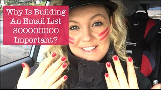 Why Is Building An Email List Sooooo Important For Online Business?