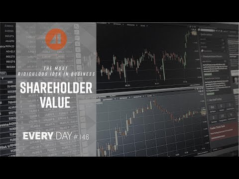 The Most Ridiculous Idea in Business: Shareholder Value - Episode 146