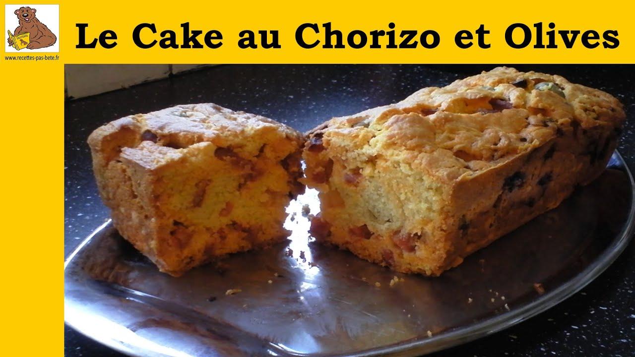 Recette Cake Au Chorizo Et Olives