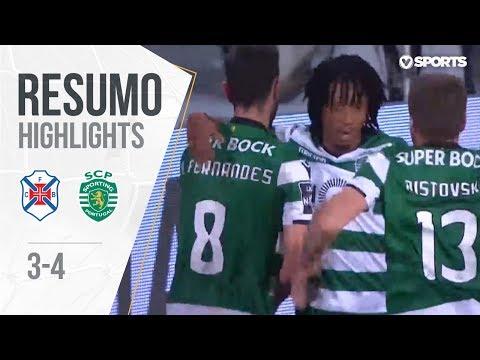 Belenenses 3-4 Sporting (Liga 30ªJ): Resumo