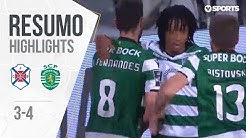 Highlights | Resumo: Belenenses 3-4 Sporting (Liga 17/18 #30)