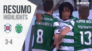 Highlights   Resumo: Belenenses 3-4 Sporting (Liga 17/18 #30)