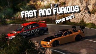 Fast and Furious Tokyo Drift - Teriyaki Boyz (BEAMNG DRIVE Remake)