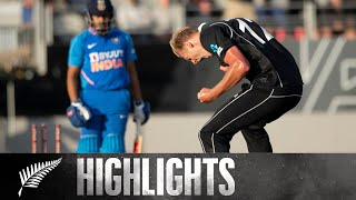 Jamieson Shines On Debut, Jadeja Fightback | FULL HIGHLIGHTS | BLACKCAPS v India - 2nd ODI, 2020