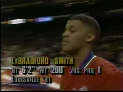 LaBradford Smith (37pts, 15/20FG) vs. Bulls (1993)
