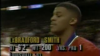 LaBradford Smith (37pts, 15/20FG) vs. Bulls (1993)
