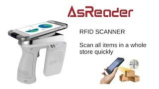 AsReader GUN Type long range UHF RFID reader screenshot 2