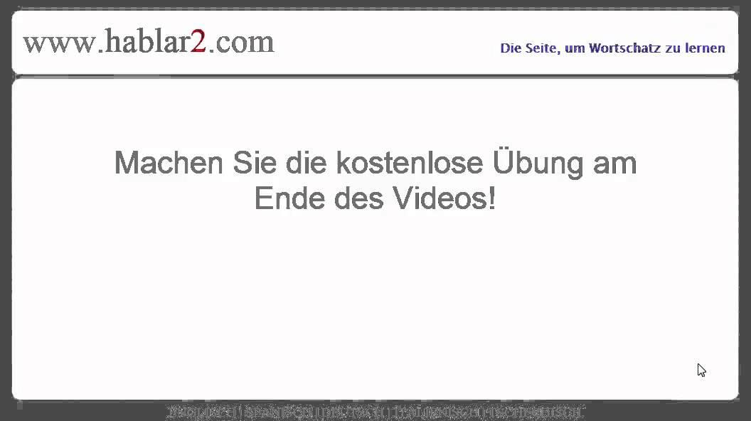 Reflexives Verb im indefinido Konjugation - YouTube