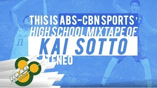 7-foot-1 Kai Sotto - Ateneo Blue Eaglets | UAAP 80 HS Mixtape