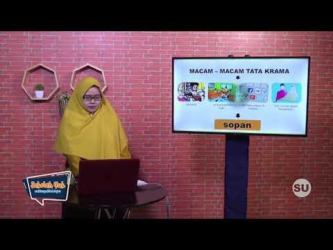 Sekolah Yuk SMP Kelas 9 Eps. 10 Memahami Makna Tata Krama, Sopan Santun & Rasa Malu - PAI