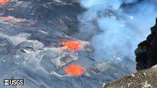 Lava Bubbles From Hawaii