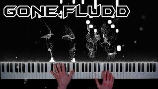 GONE.Fludd - Сахарный человек - кавер на пианино | урок | как играть