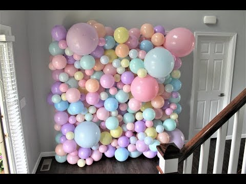 Balloon Wall DIY | How To | Tutorial