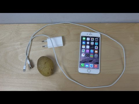 Can You Charge An Iphone With Potato