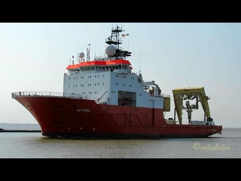 offshore research & survey vessel AETHRA 5BHH4 IMO 9181481 i