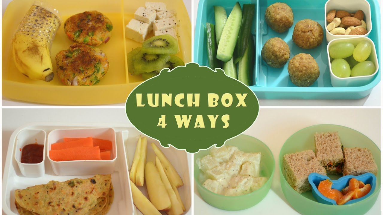 Indian Lunch Box Ideas Part 1 Kids Lunch Box Recipes Quick