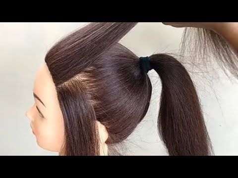 easy-high-ponytail-hairstyle-for-festival-or-party-||-new-ponytail-hairstyles-for-girls