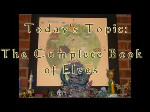 RPG Talk: Complete Book of Elves Review for Advanced Dungeons & Dragons 2nd Edition