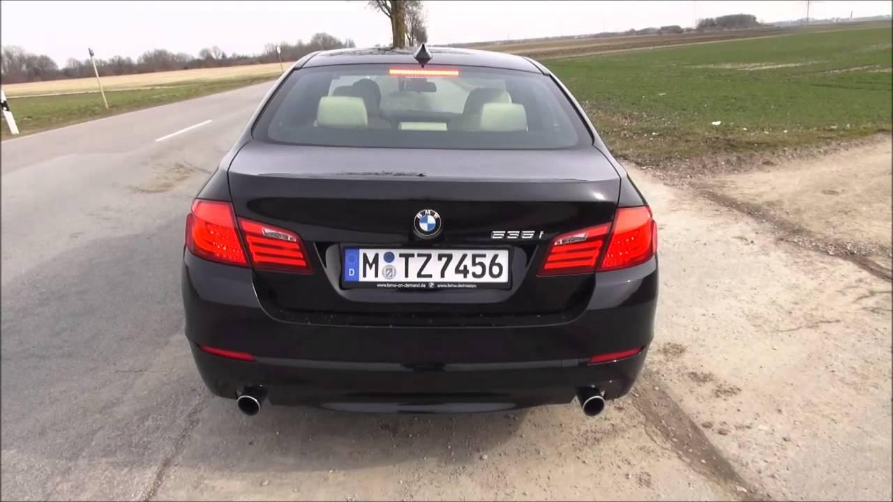 2013 BMW 535I >> BMW 535i F10 Test Drive - YouTube