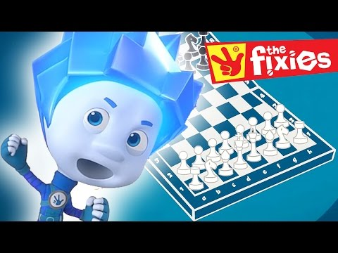 Thumbnail: The Fixies English ★ Chess - The Stain ★ Fixies 2016 | Cartoon For Kids