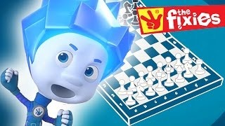 The Fixies English ★ Chess - The Stain ★ Fixies 2016 | Cartoon For Kids
