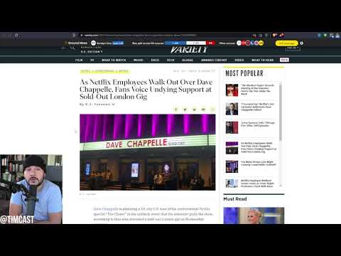 Deranged Leftist Netflix Employees ATTACK Dave Chappelle Fan, Dave Responds Says He Will Fight B