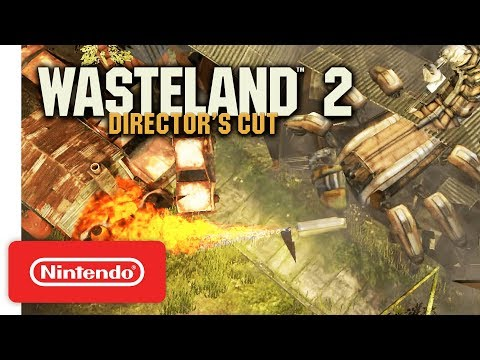 Wasteland 2 Brings That Great PC Jank To Nintendo Switch