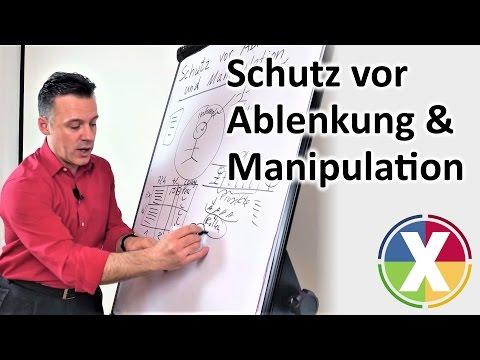 Schutz vor Ablenkung & Manipulation